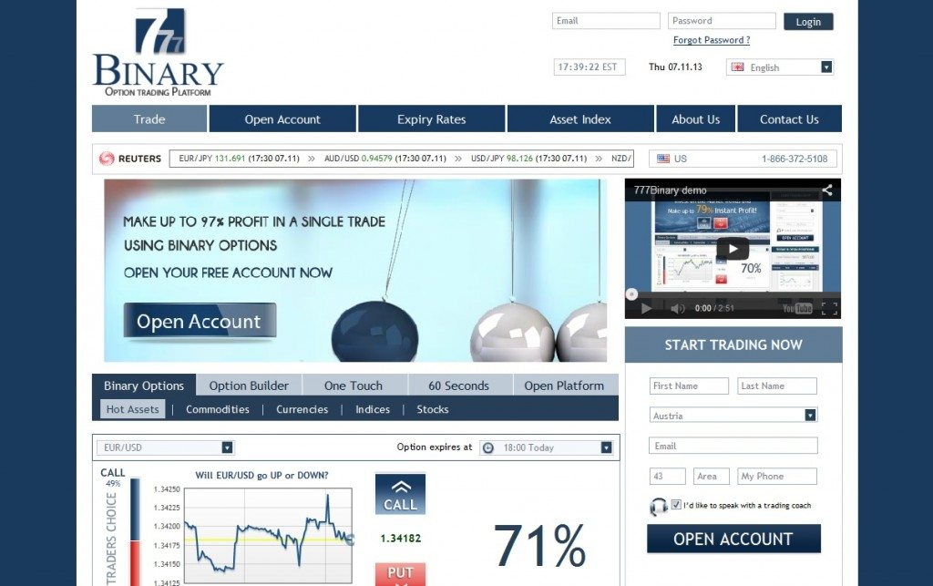 Binary Options Reviews 2014 - M Review - Binary Options That Suck