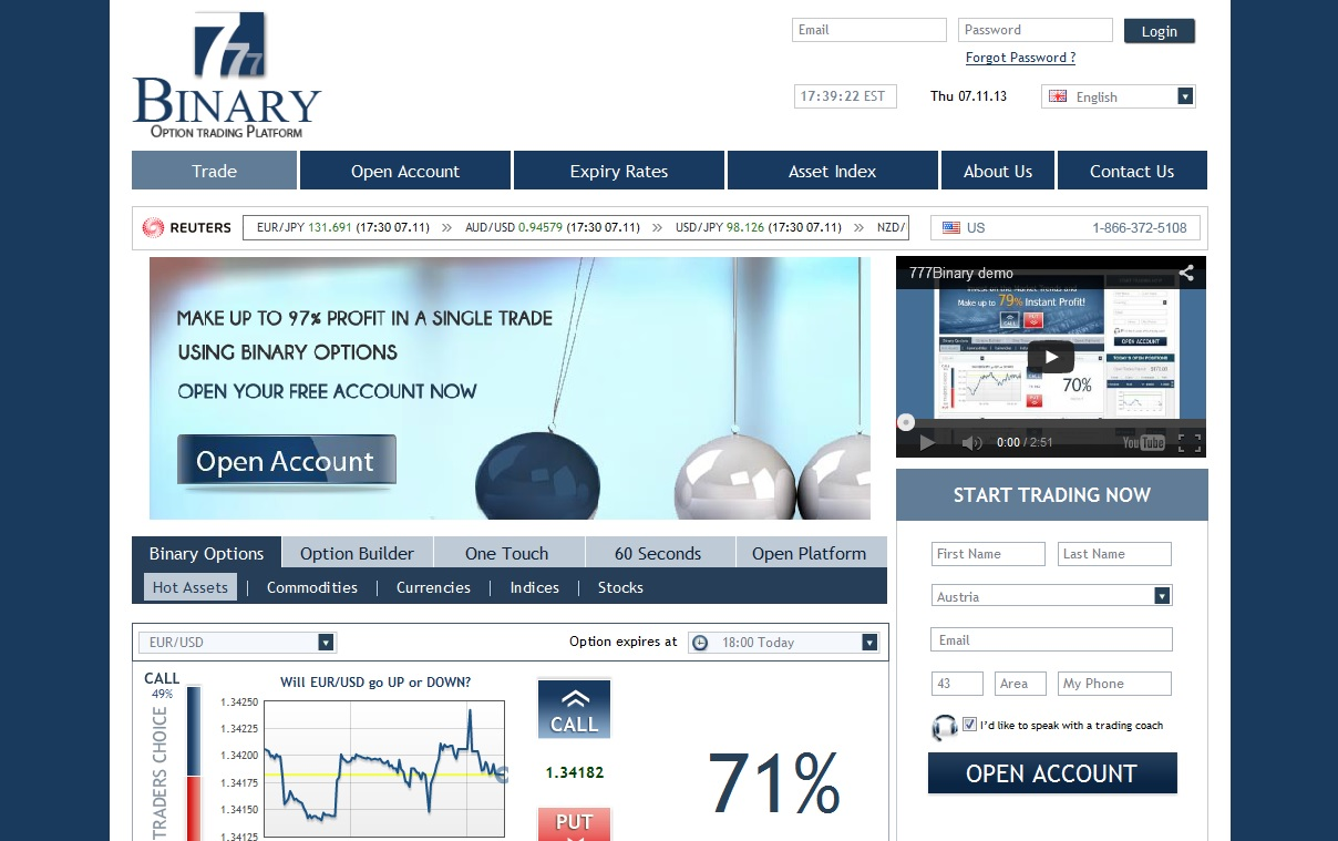 Binary option software free