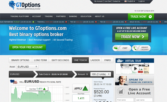 Binary option zone