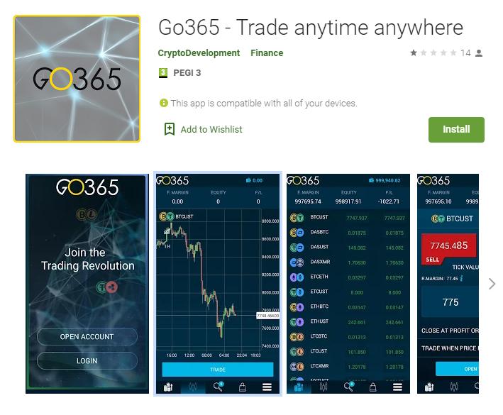 GO365.io mobile app