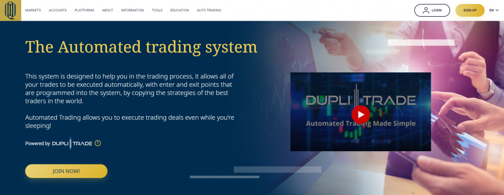 Q8 Trade DupliTrade